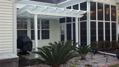Customer Pergola Photos Of Fiberglass Vinyl Cpvc Pvc Pergola Kits