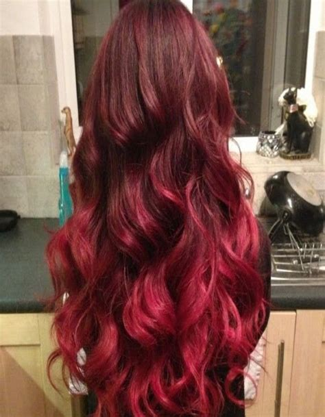 red ombre hair http www menhairstylesidea com wp content uploads 2014