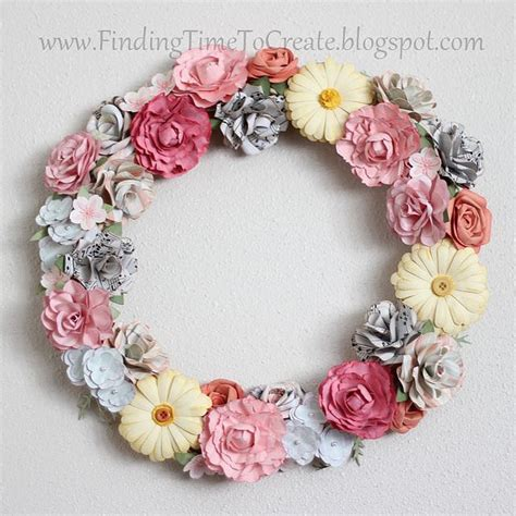 paper flower wreath tutorial pin by christie vicars christie v photography on