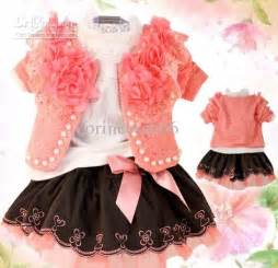 Baby outfits lace children clothes kids autumn sets online with 119