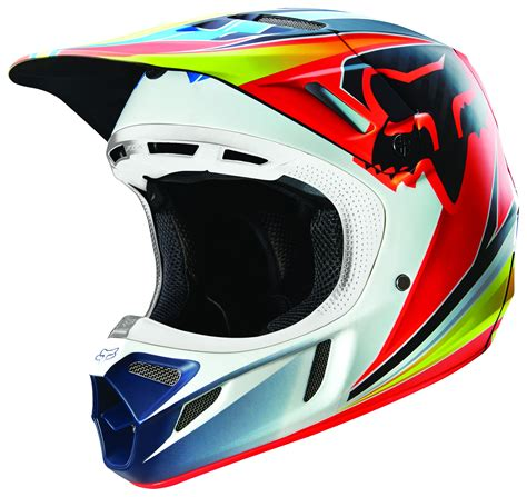 fox helmets fox racing v4 race helmet revzilla