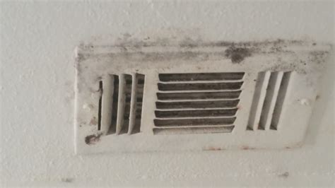 this old house bathroom vent the mold on my vent in the bathroom my old ac was leaking 350 ac bills motor needed to be