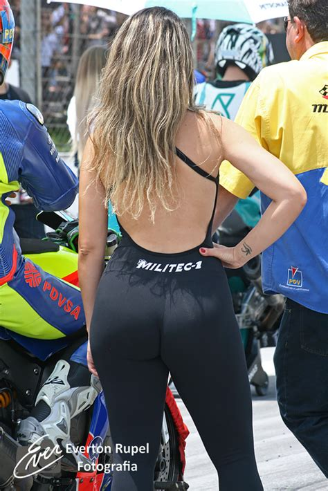 Brazilian Moto 1000 GP championship, grid girl at