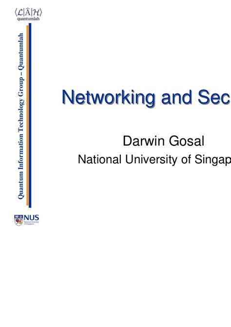 history of networking and security