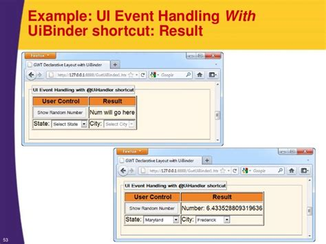 layout events primefaces gwt tutorial declarative layout with uibinder introduction