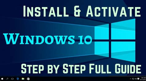 install windows 10 without key how to install windows 10 activate windows 10 without