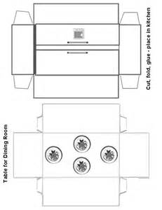 How To Make A Paper Refrigerator - paper crafts playsets dwellings furniture ammey s