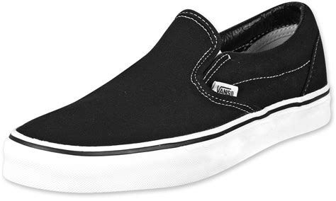 Vans Slip On Black vans classic slip on shoes black