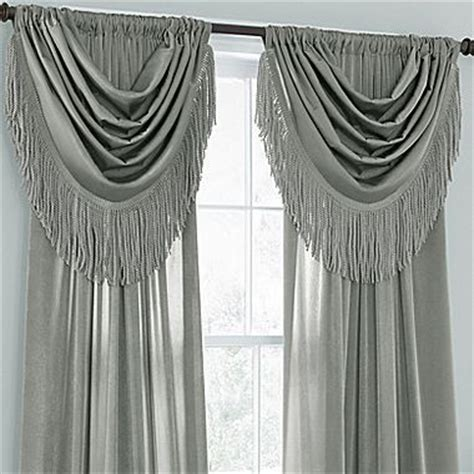 chris madden curtains window treatments chris madden 174 waterfall valance window dressing