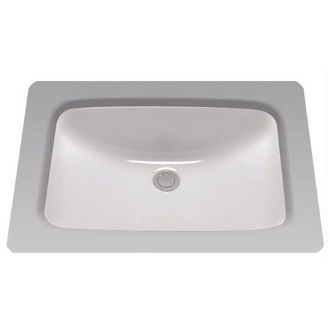 toto undermount bathroom sinks toto 19 in undermount bathroom sink with cefiontect in