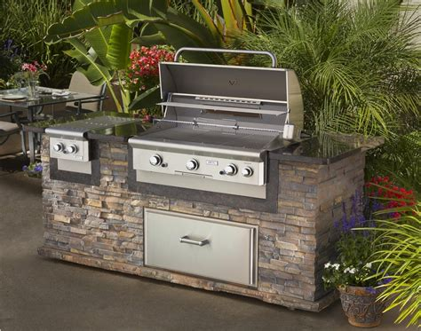 Outdoor Island Kitchen 37 Best Outdoor Kitchen Kits Of 2017 Ward Log Homes