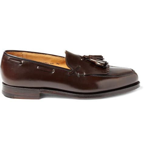 ralph leather loafers ralph purple label leather tassel loafers 1 the