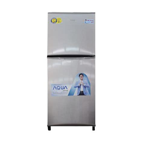 Kulkas 2 Pintu Sanyo Aqua jual aqua aqrd240 kulkas 2 pintu 169 l harga kualitas terjamin blibli