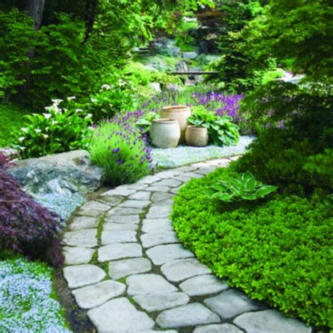 Backyard Walkway by Garden Paths