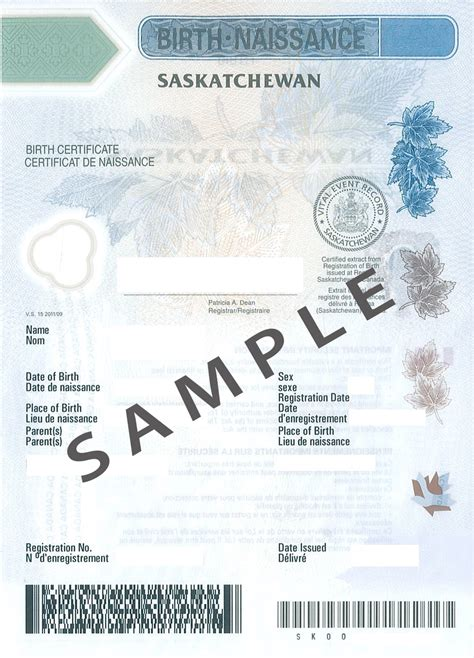 Birth Records Canada How To Make A Birth Certificate That Looks Real Popular And 9 Authorization