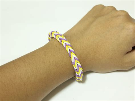 how to make loom bands with how to make a fishtail loom bracelet 9 steps with pictures