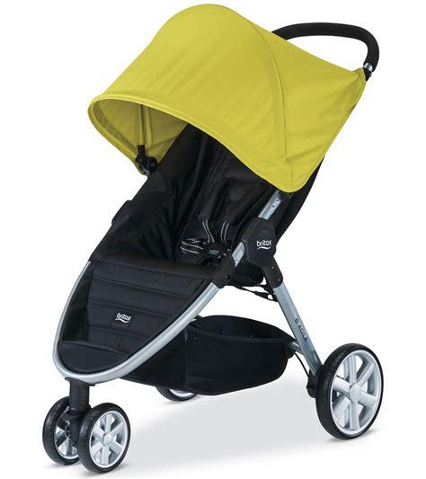 Britax B Agile Stroller Recline by Britax B Agile 3 Stroller Limeade