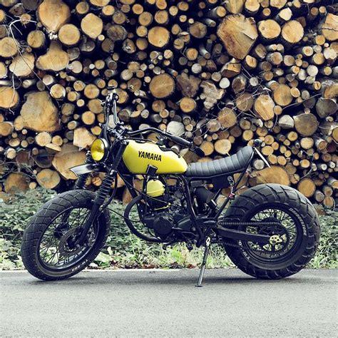 Motorrad Yamaha Tw200 by Le French Atelier S Yamaha Tw200 Motor Pinterest