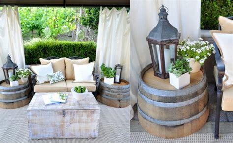 Holzfass Deko Ideen by Gartendeko Aus Holz Weinfass 15 Kreative Ideen F 252 Rs Alte