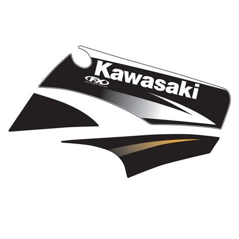 Kawasaki Oem by 2004 Kawasaki Oem Graphic Kx85 100 01 11
