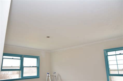 Update Popcorn Ceiling how to scrape painted popcorn ceilings and baby room update warfieldfamily