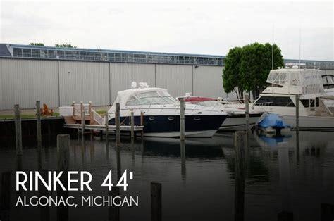 boats for sale in algonac michigan sold rinker 420 express cruiser boat in algonac mi 108615