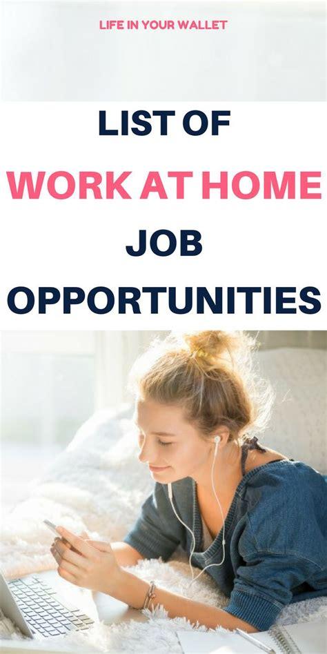 Online Job Opportunities Work From Home - best 25 work from home opportunities ideas on pinterest