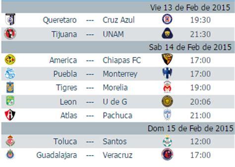 Calendario Liguilla Mexicana 2015 Image Gallery Liguilla Mexicana 2015