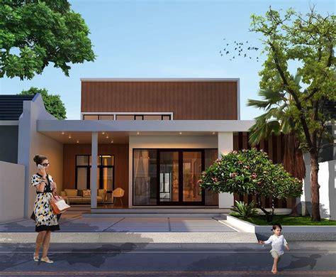 gambar tampak depan rumah minimalis    lantai  terbaru dekor rumah