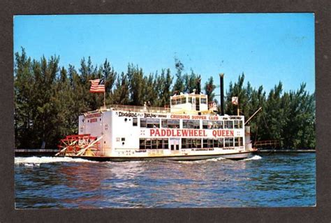 paddle boat winnipeg fl paddlewheel queen cruise boat ft lauderdale florida ebay