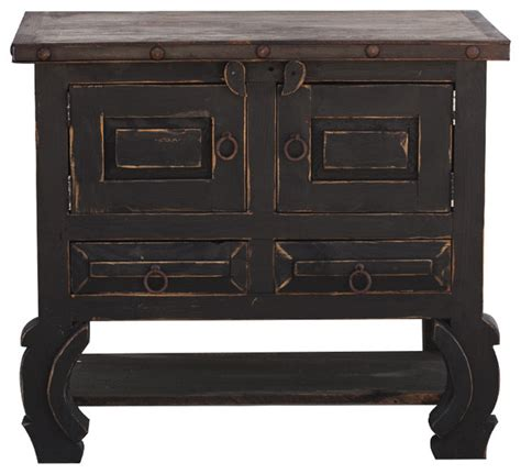 Black Distressed Bathroom Vanity by Distressed Black Vanity 36x20x32 Traditional Bathroom