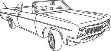 coloring pages lowrider cars lowrider classic car coloring pages netart