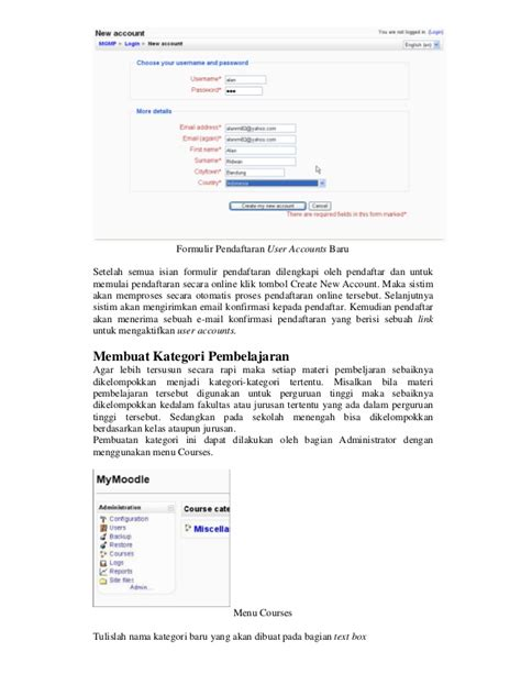tutorial oracle database bahasa indonesia tutorial moodle bahasa indonesia