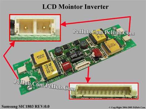 Inverter Monitor Lcd samsung sic1803 lcd monitor tv inverter sic1803 rev 0 0