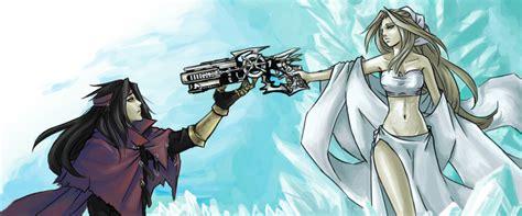 vincent and lucrecia crescent lucrecia crescent vii zerochan anime