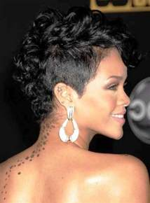 dark hair hairstyles for women 48 rihanna short curly mohawk hairstyles fashion for curly