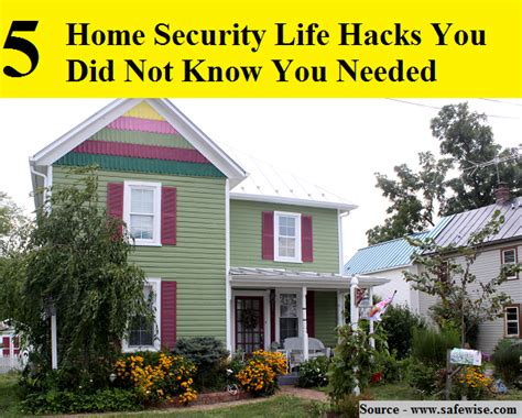 life hacks for home 5 home security life hacks you did not know you needed