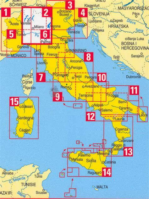 map uk to italy italy