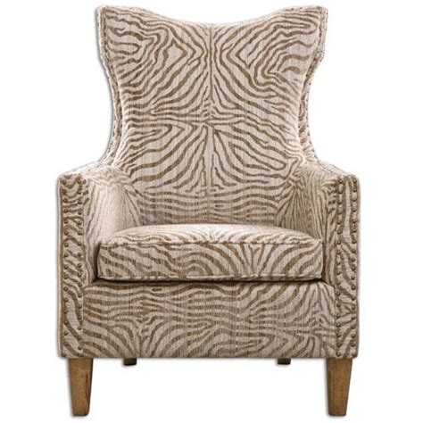 Armchair Pattern High Back Accent Chairs Bellacor