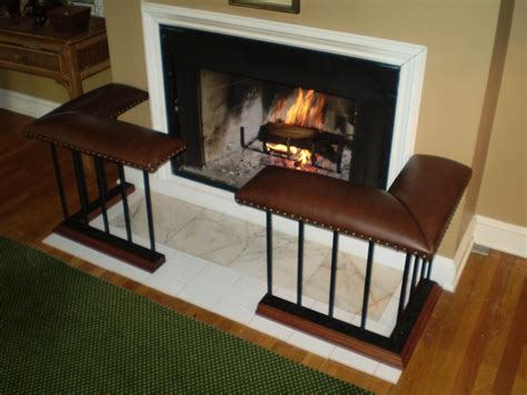 Fireplace Bench by Made Fireplace Bench Corner Set Model
