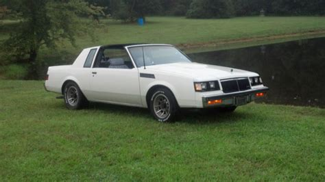 1986 Buick T Type 1986 White Buick T Type Turbo T Top Same Drivetrain As