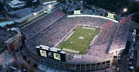 michigan state football stadium seating capacity southern football report preseason poll 6 michigan state