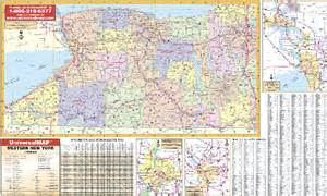 Western New York Map by Western New York State Map Submited Images