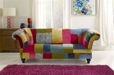 patchwork sofa chesterfields