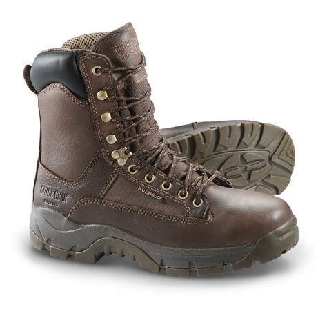 guide gear s 8 quot soft toe leather hammer boots 292370