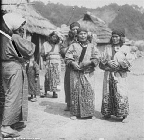 Ainu Japan arnold genthe s photos of the ainu indigenous