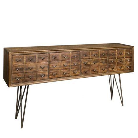kommode 180 cm breit kommode altholz sideboard braun vintage anrichte