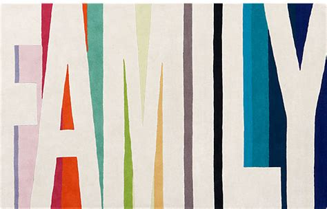 cb2 family rug family color rug contemporary rugs by cb2