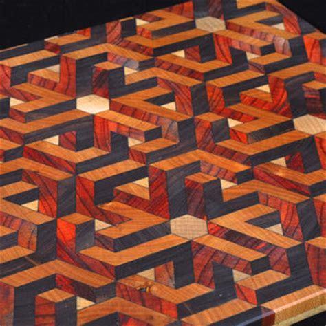 3d cutting board 3 3d geometric illusion cutting board from artifacture llc