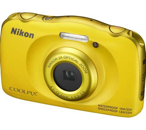 nikon tough buy nikon coolpix w100 tough compact yellow